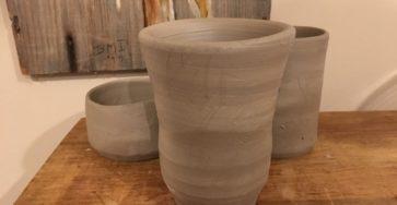 clay pieces