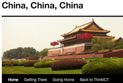 Image of China blog